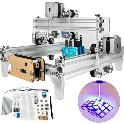 Laser Engraver Cnc Machine 15w Mini Laser Engraver For Wood Leather Plastic