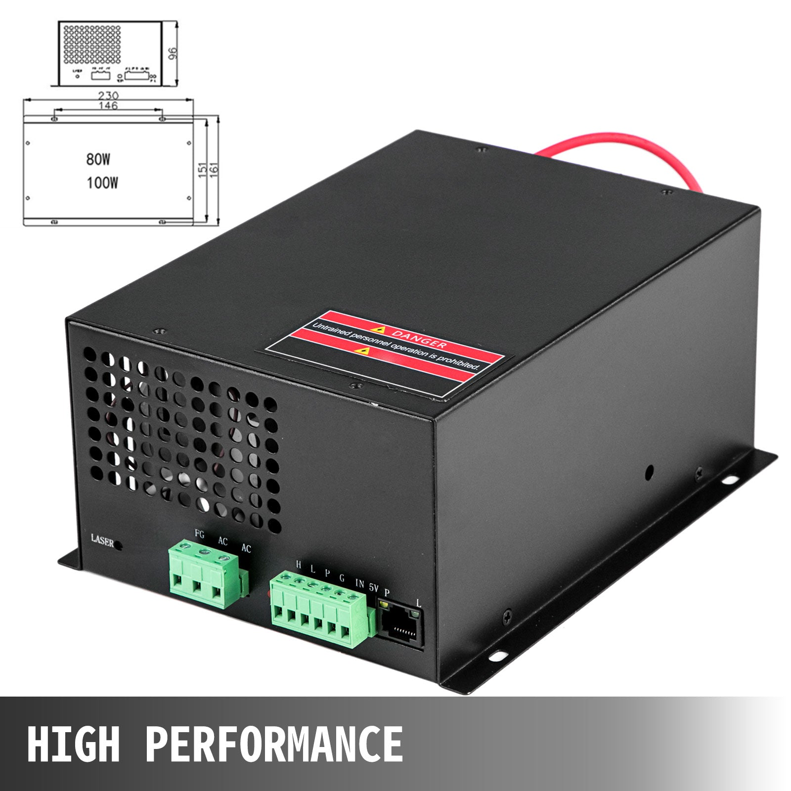 Laser Power Supply Co2 Laser Engraver 100w Laser Power Engraving Supplies