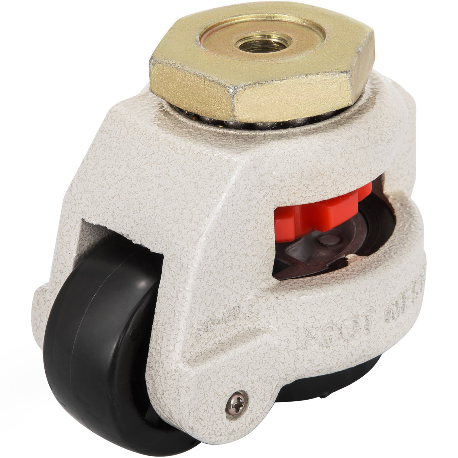 Gd-60s Set Of 4 Leveling Casters High Wearability Medical Footmaster Caster