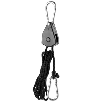 Grow Light Hanger Adjustable,rope Clip Hanger 73-pair1/8