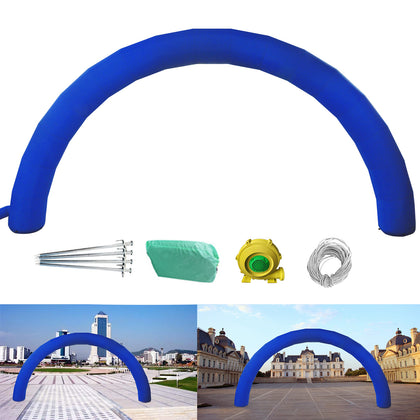 Inflatable Blue Arched Door Advertising Arch 26ft*10ft (8*4m) Holiday Decorat