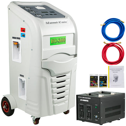 R-134a Recover Recycle Recharge Machine R-12 Ho-s600 Air Conditioning Vial
