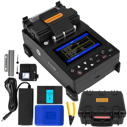 Fl-115 Fiber Fusion Splicer Kits Fiber Optic Welding Splicing Machine Automatic