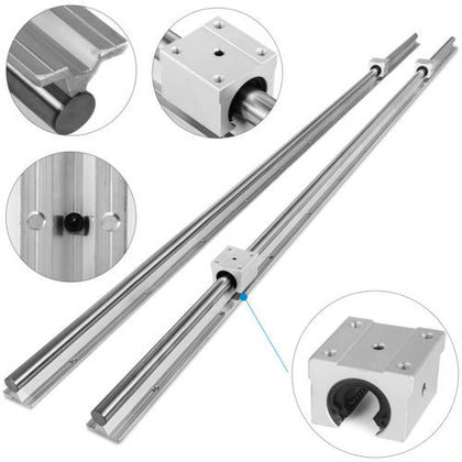 Sbr20-1500 20mm 2x Linear Rail Set Cnc 1500mm Linear Rail Machinery High Load