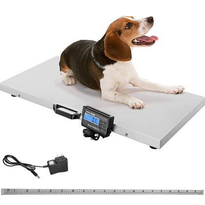 Digital Vet Livestock Scale Pet Veterinary Scale Stainless Platform 1100x0.2lbs