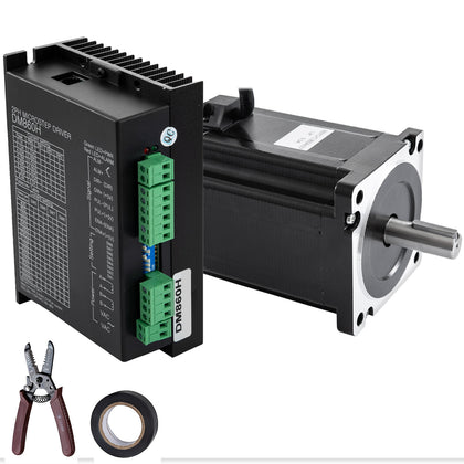 Stepper Motor Nema34+hybrid Servo Drive Dm860h Kit 8.5nm Cnc