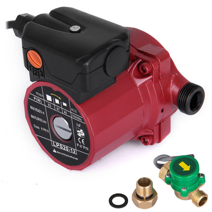 115v,npt 3/4'',3-speed Automatic Household Hot Water Circulation Pump For Heater