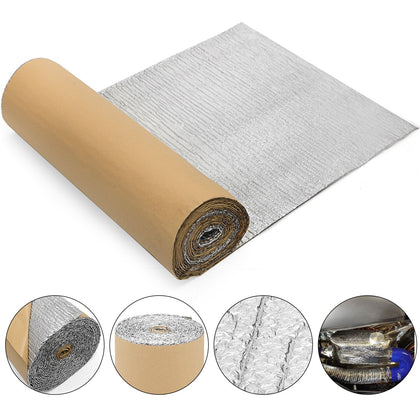 Self Adhesive Bubble Foil Insulation 40inx40ft Commercial Sola-guard Adhesive