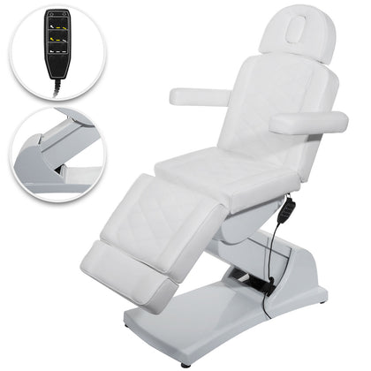 Electric Facial Chair Massage Table Bed Reclining Chair 4 Motors Salon Chair