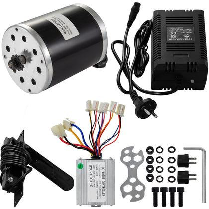 36v 500w Electric Bicycle Kit E-bike Motor Controller Kit Usa