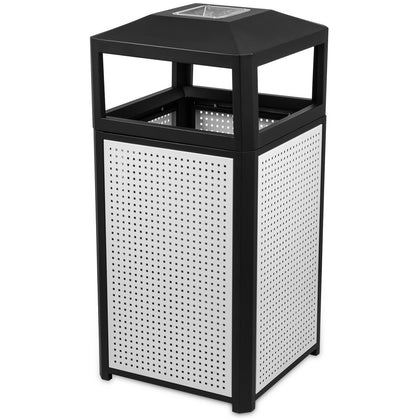 Bestequip Garbage Can 44.5g Trash Cans Ash Urn For Coffee Houses Campuses Parks