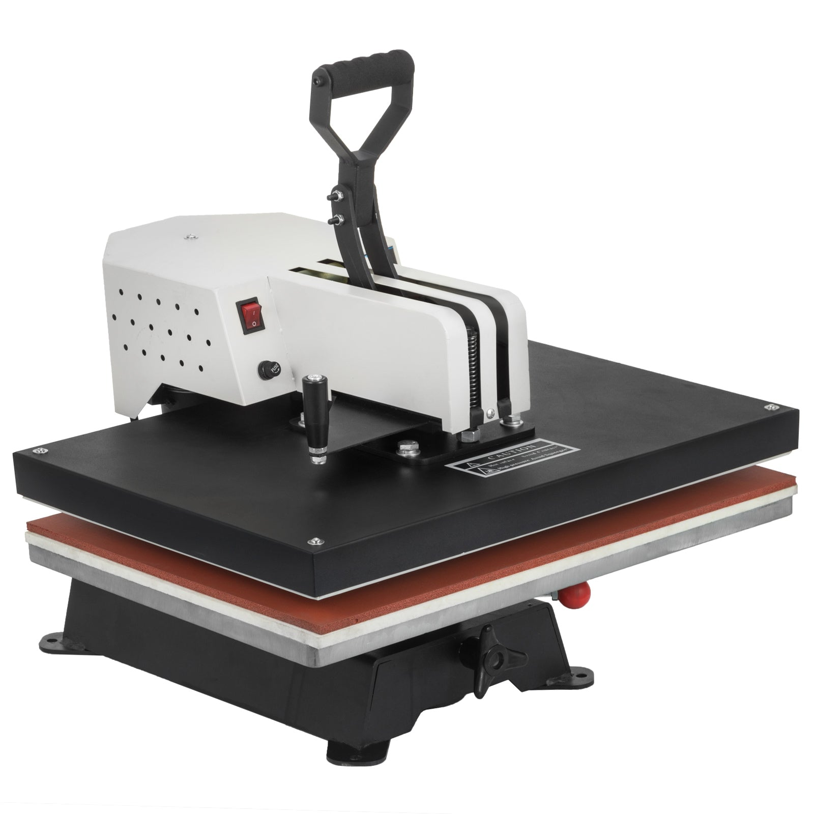 "15""x15"" Digital Heat Press Transfer Machine Large Size Plate Printer Swing Away"