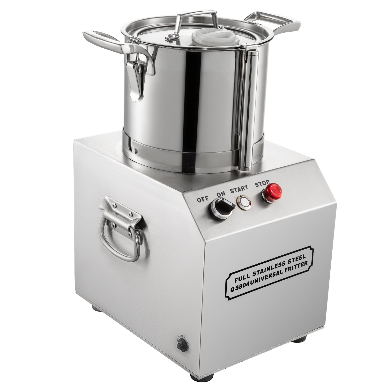 Commercial Food Processor Food Grinder 4l Sus Tomato Chopper Vegetable Dicer