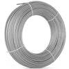 "T316 Stainless Steel Cable Wire Rope,1/8"",7x7,200ft Chemical Petroleum Mining"
