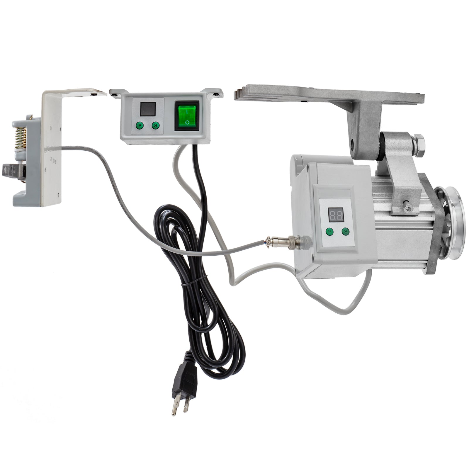 400w 220v Energy Saving Brushless Servo Motor For Industrial Sewing Machine