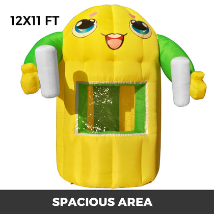 12x11ft Inflatable Booth Tent Concession Stand Tent Party Birthday Wedding