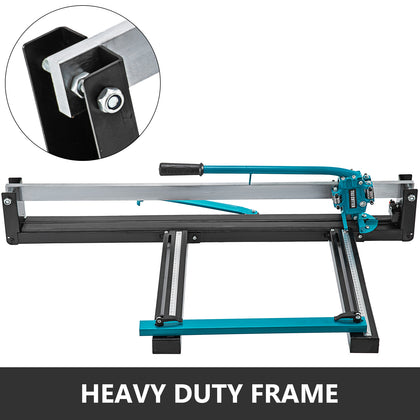 31 Inch Blue Manual Tile Cutter W/precise Laser Positioning & Anti-sliding
