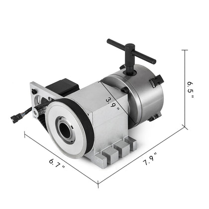 Cnc Rotary Axis Router Rotational 4-jaw High Quality Durable 4th-axis Usa