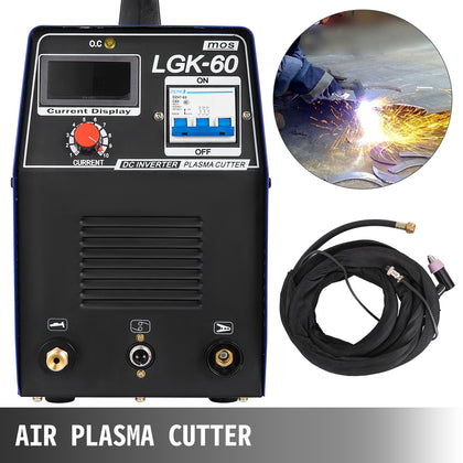 Portable Electric Digital Plasma Cutter Lgk-60 230v 60a Compatible & Accessories