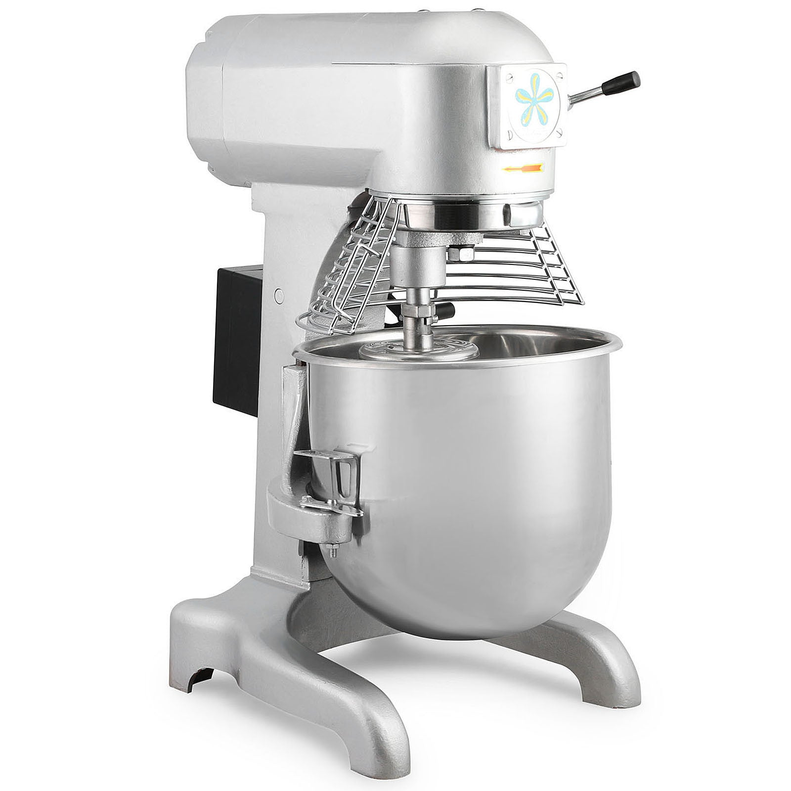 Vevor 30qt Planetary Mixer & Guard & 3 Attachments 1.5 Hp Commercial Dough Mixer
