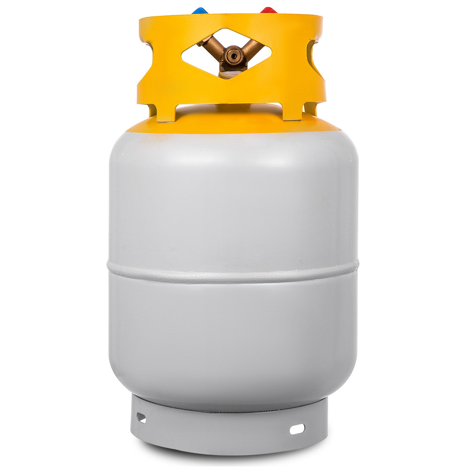 Refrigerant Recovery Reclaim 30lb Cylinder Tank 400 Psi R410a Liquid High Gloss
