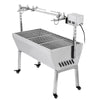 18w 88 Lbs Stainless Lamb Bbq Roaster Rotisserie Spit Pig Goat Trotter Electric