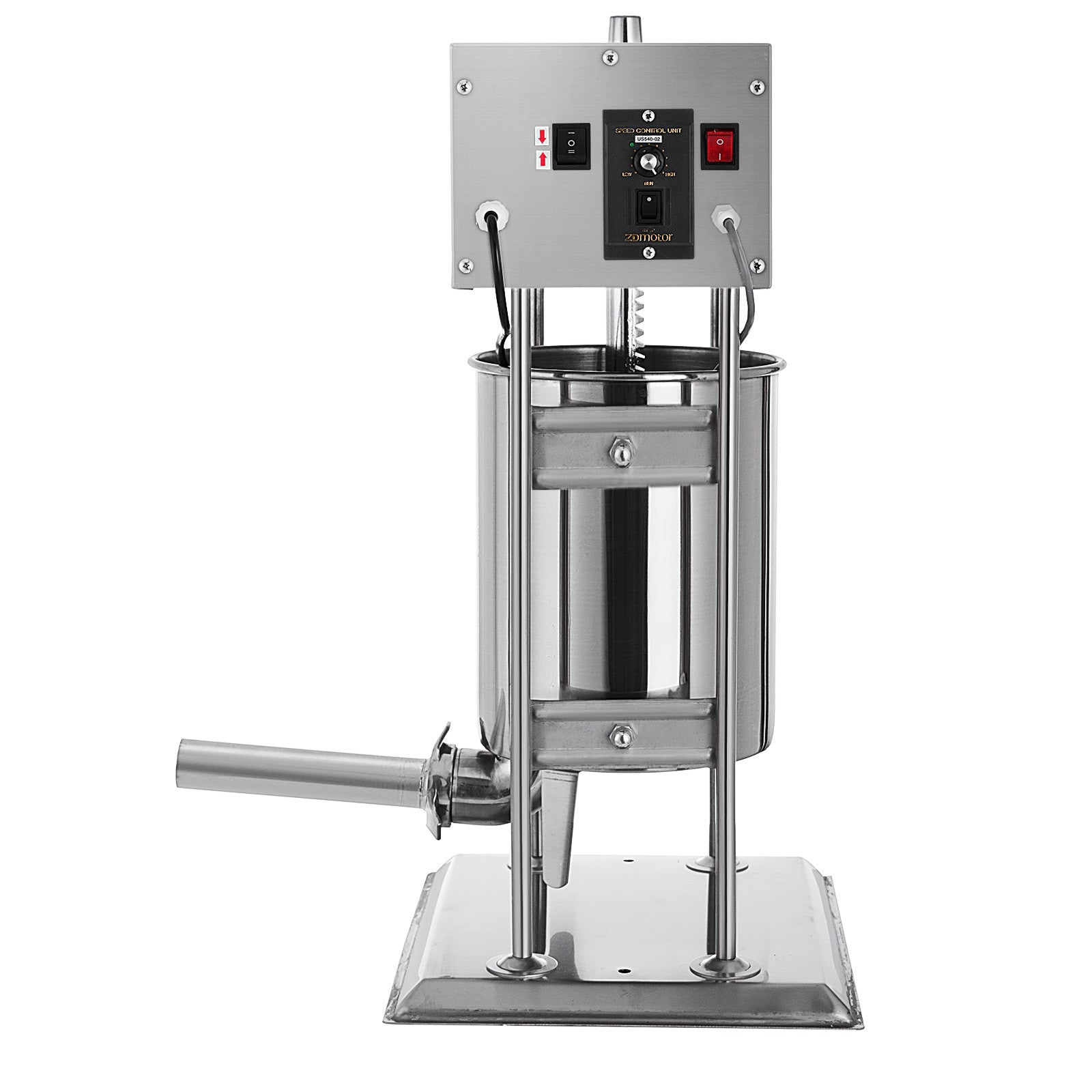 Vevor 12l Electric Sausage Stuffer Multispeed Stainless Steel Filler 28lbs