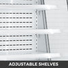 "36"" Stainless Steel Open Refrigerated Display Case Air Curtain Merchandisers"
