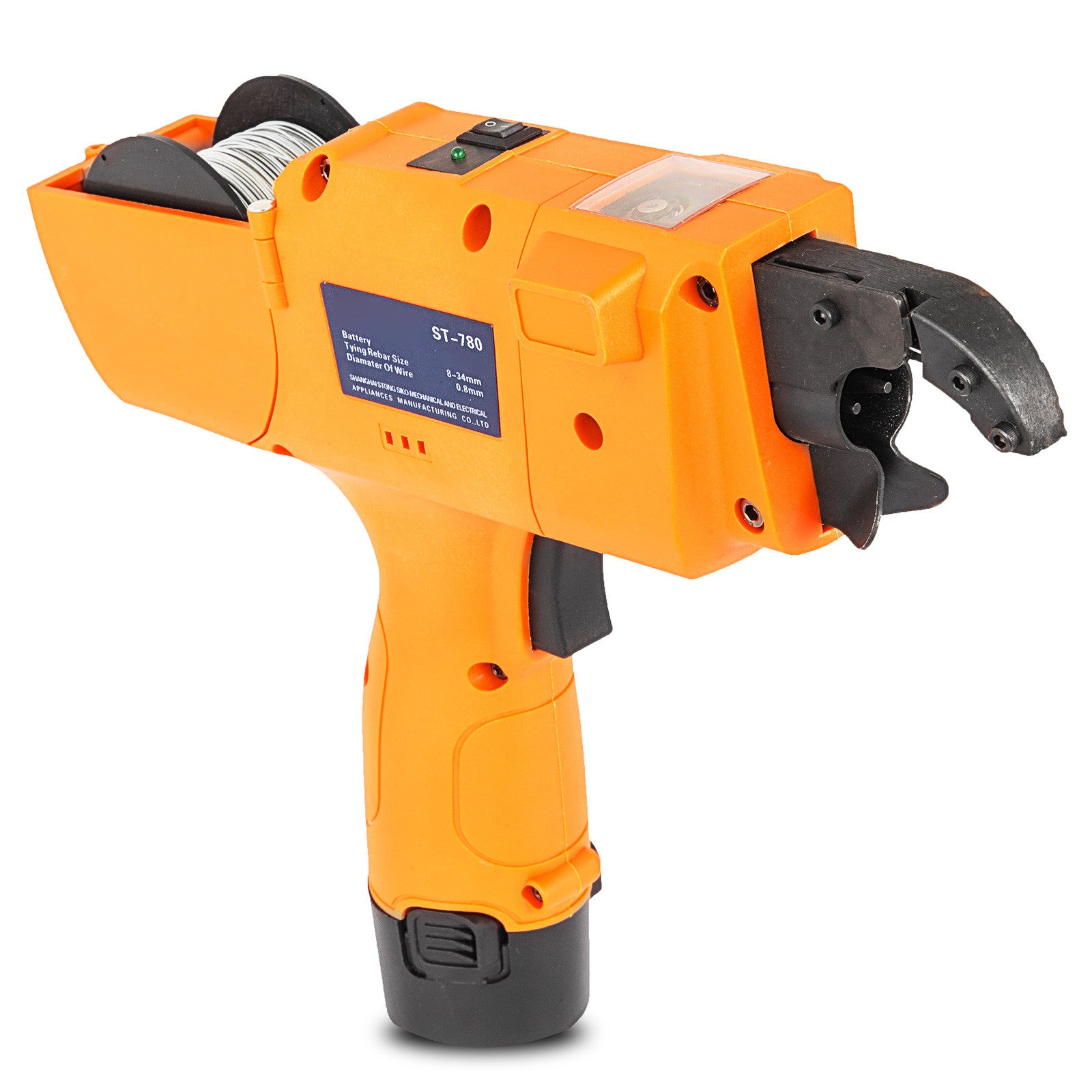 8-34mm Automatic Rebar Tier Handheld Tying Reinforcing Steel Strapping Machine