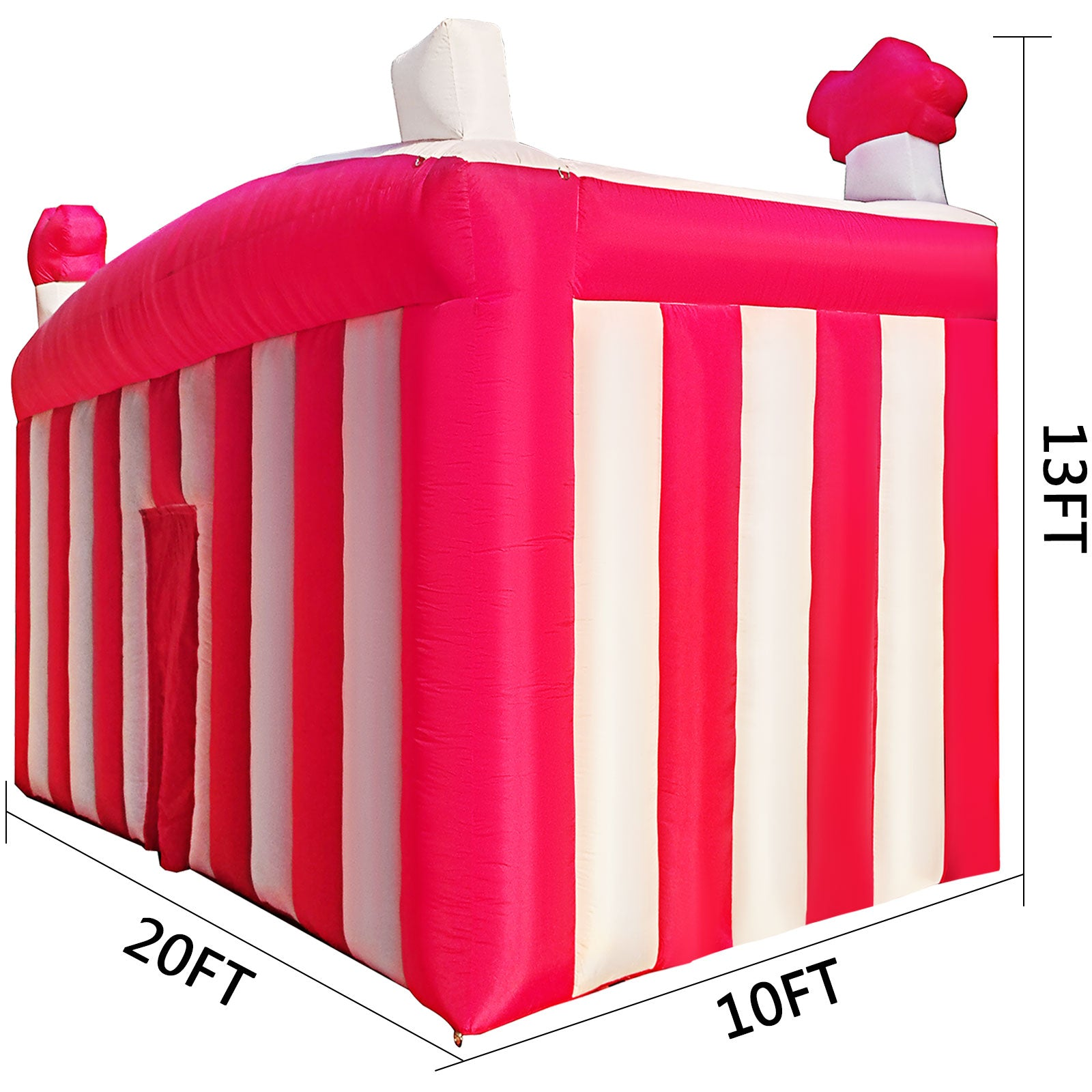 20x10x13ft Outdoor Inflatable Pub House Bar Vip Tent Party Event With Air Blower