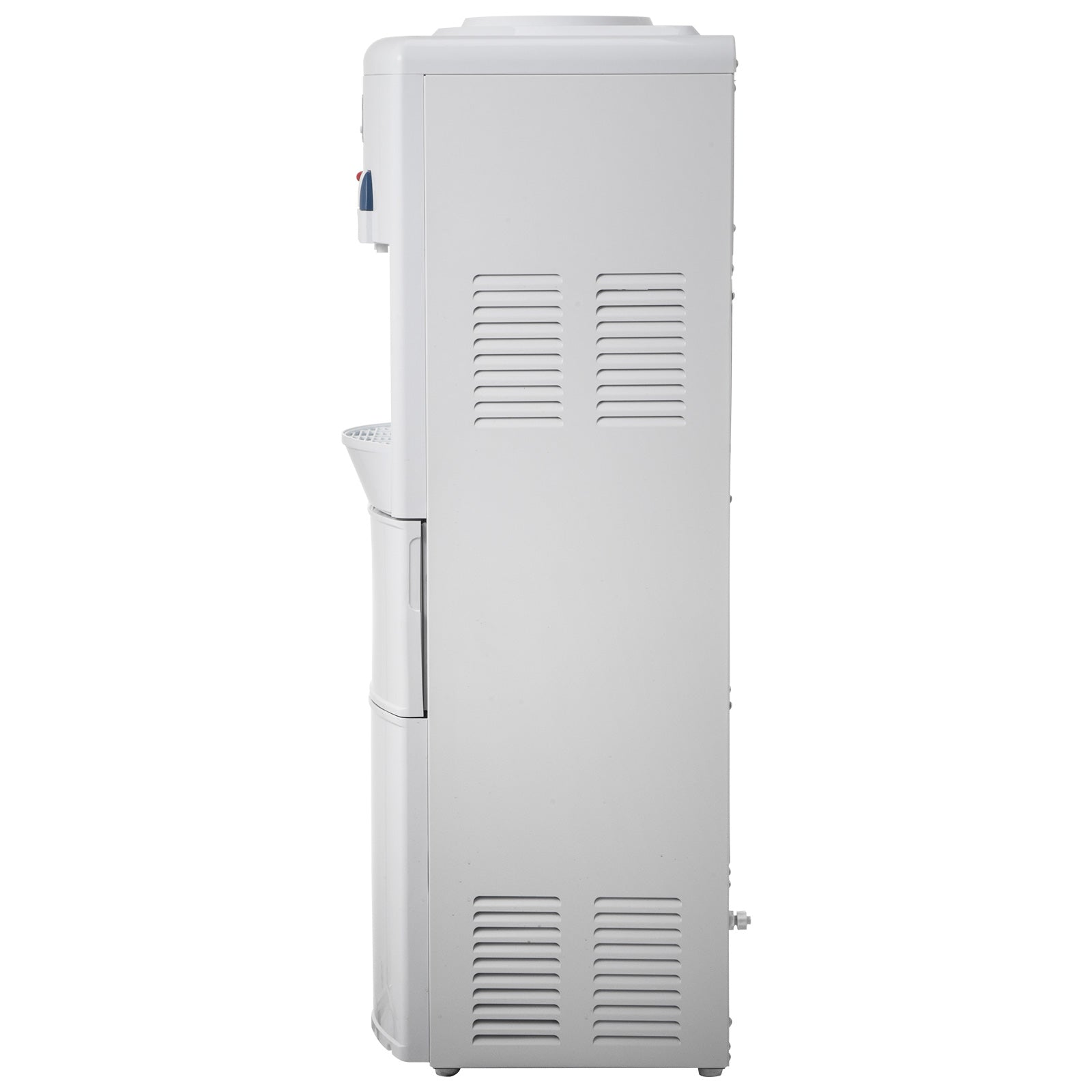Electric Water Cooler Dispenser Built In Ice Maker White Hot Cold Water Cooler