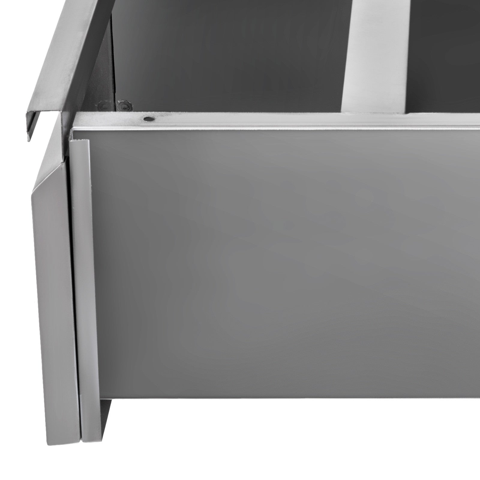 "Work Table Drawer 20""x 20""x 8"" Front Drawer Outdoor Kitchen Ball Bearing Slides"