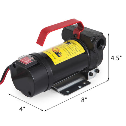 12v Dc 45l/min 175w 3600 Rpm Fuel Transfer Pump Commercial Diesel Accurate