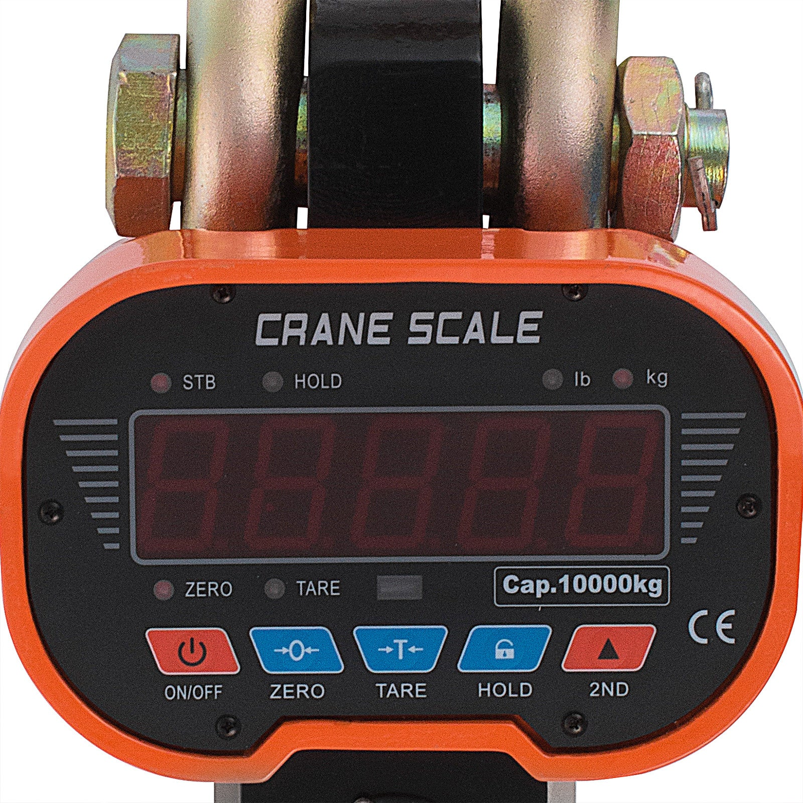 Wireless Remote 20000lb Digital Weighing Crane Scale Hanging Auto Power-off