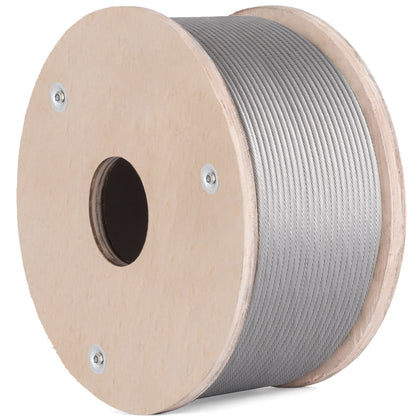 T316 Stainless Steel Cable Wire Rope,3/16
