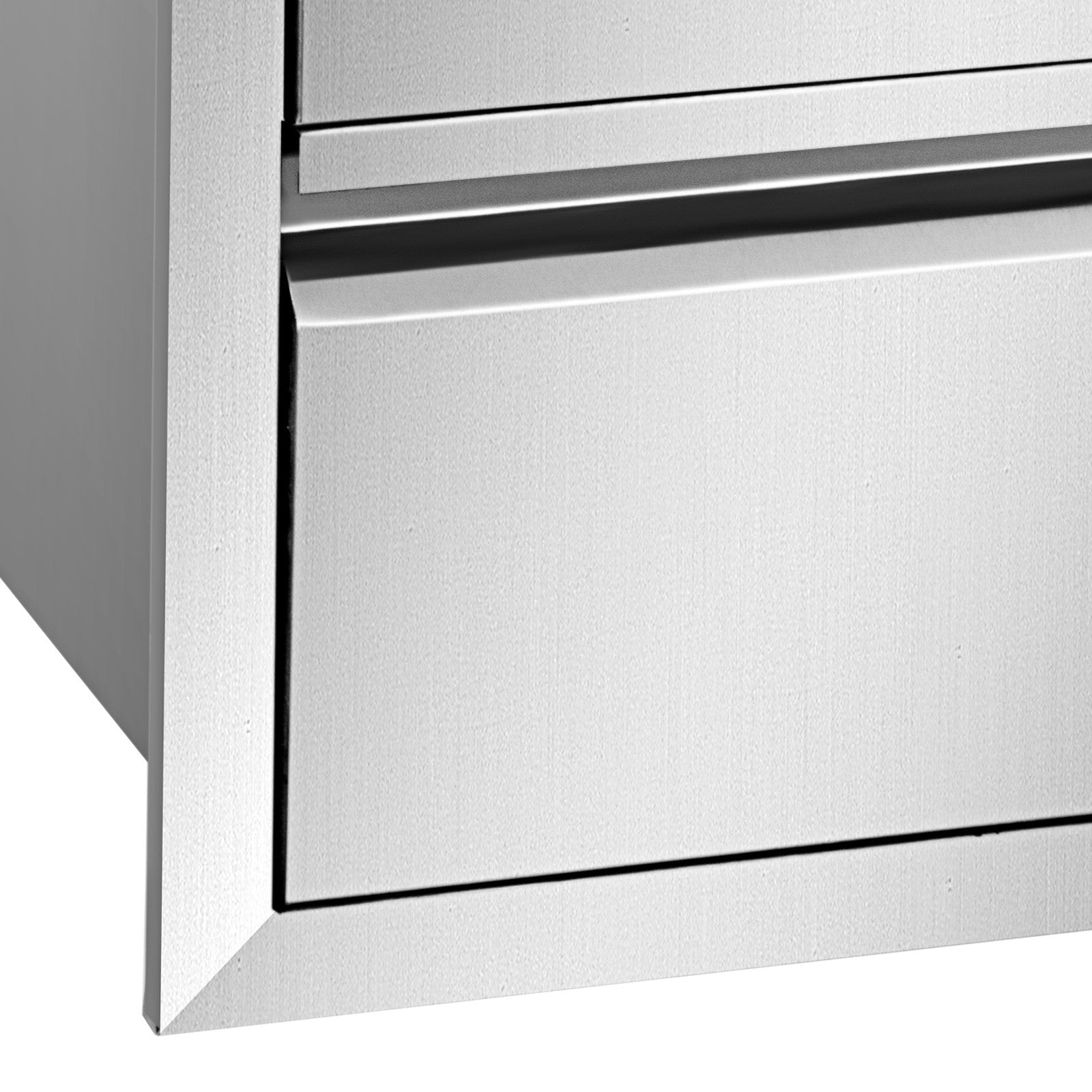 "19.6"" X 26.6"" Outdoor Kitchen Drawer Bbq Island Stainless Steel Access Drawers"