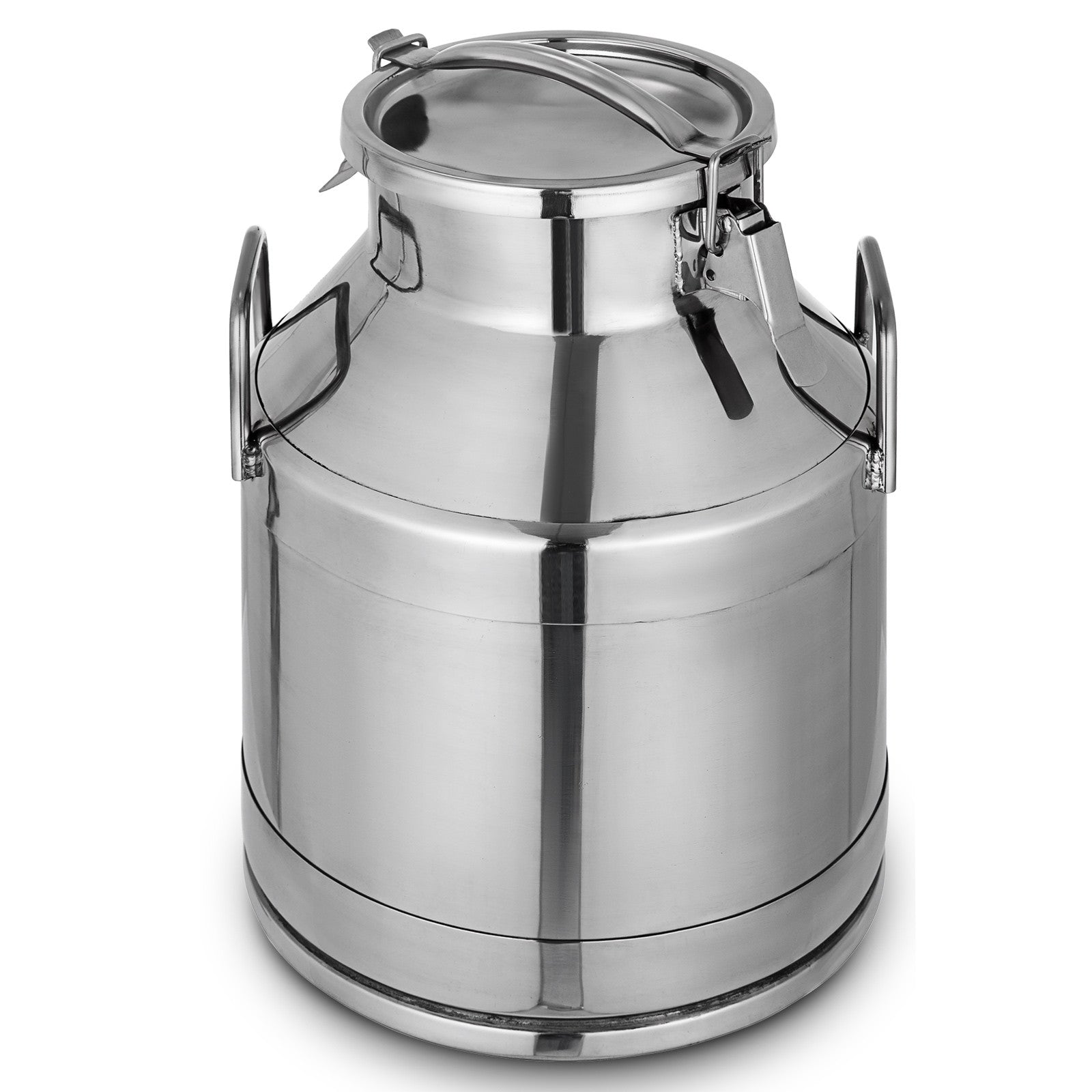 5.25 Gallon Stainless Steel Milk Can Tote Silicone Seal 20l Heavy Gauge