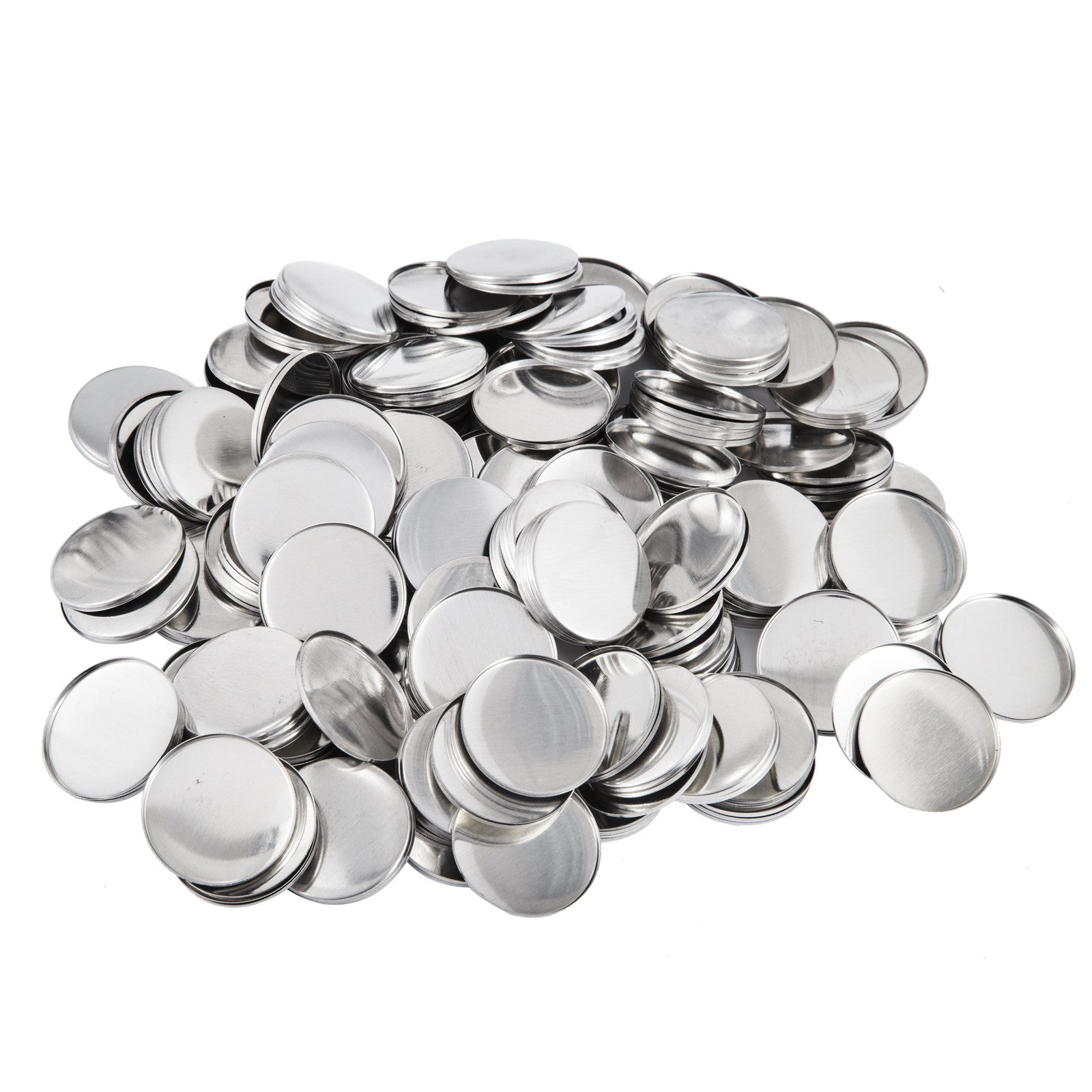 "2000pcs 25mm 1"" Button For Badge Maker Machine Customize Plastic Cover Supplies"