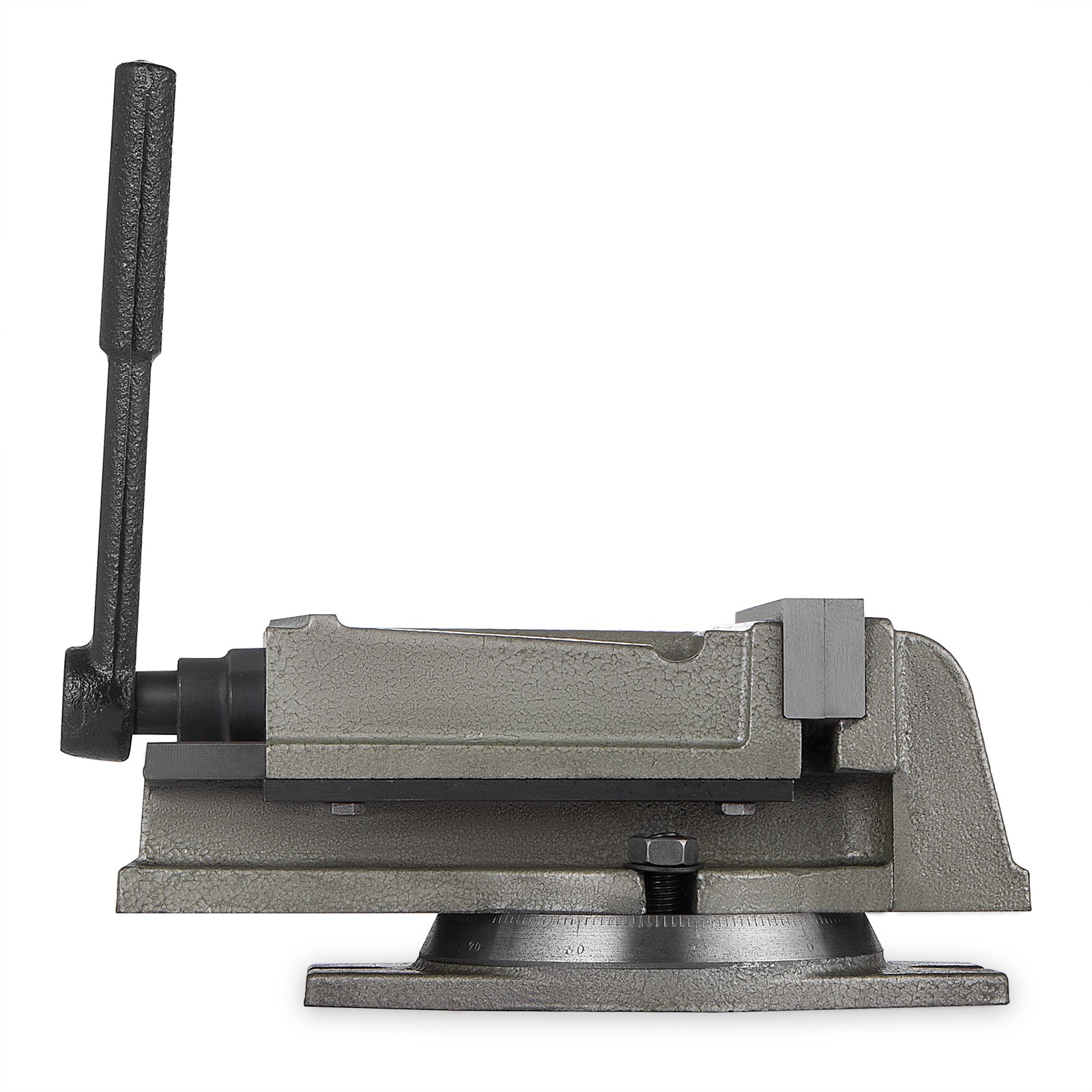"5"" Bench Clamp Bench Vise With Swivel Base Precision Milling Drilling Machine"