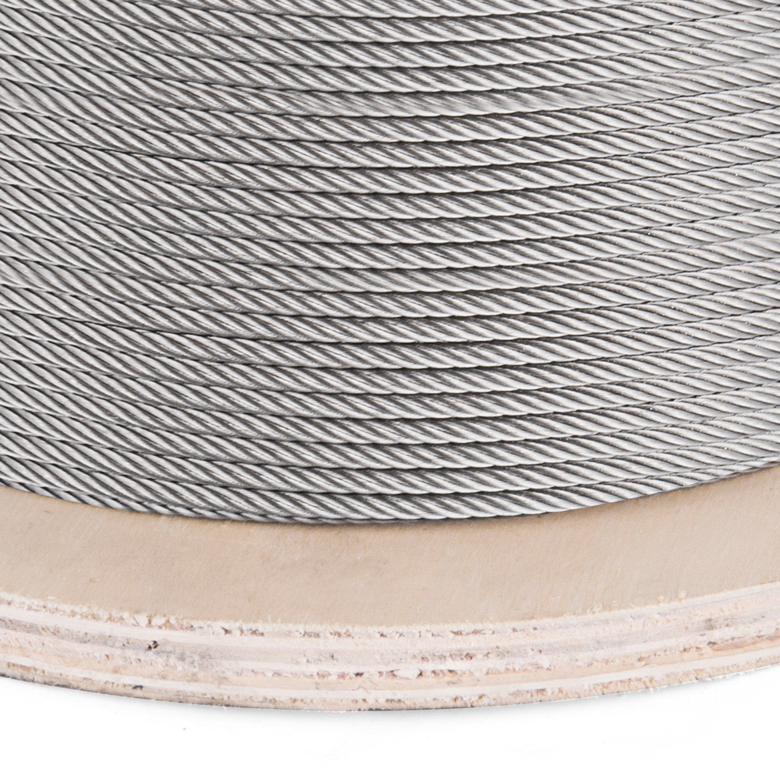 "1/8"" Stainless Steel Cable Railing Wire Rope 1x19 Type 316 (700 Feet)"