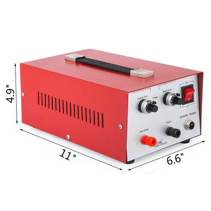 Jewelry Welding Machine 200w 30a Electric Pulse Sparkle Spot Welder Machine 110v