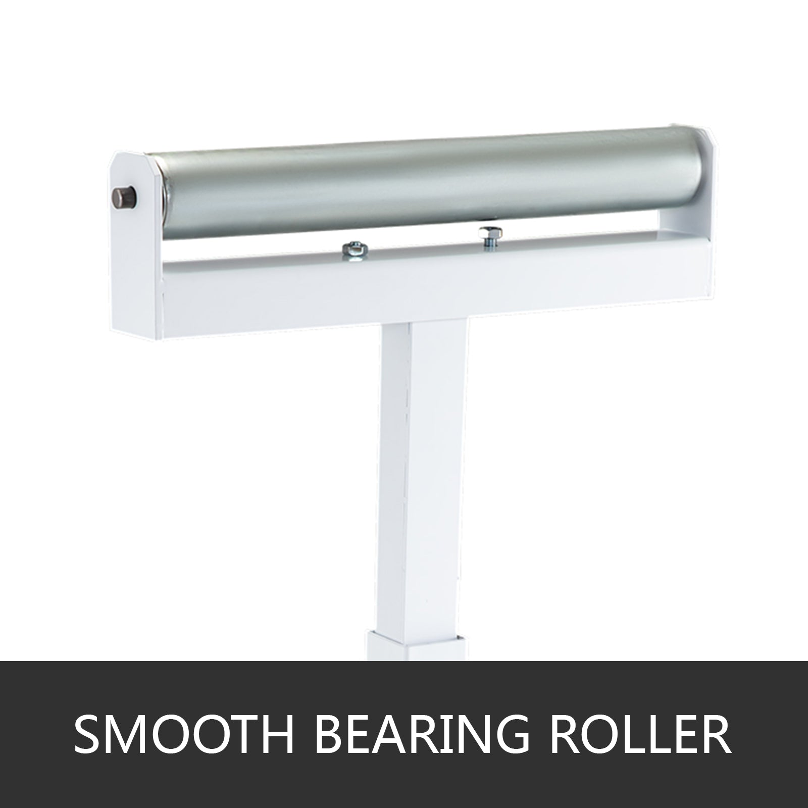 Roller Table Tools Stand With Adjustable Wedge Lock And Non-skid Casters