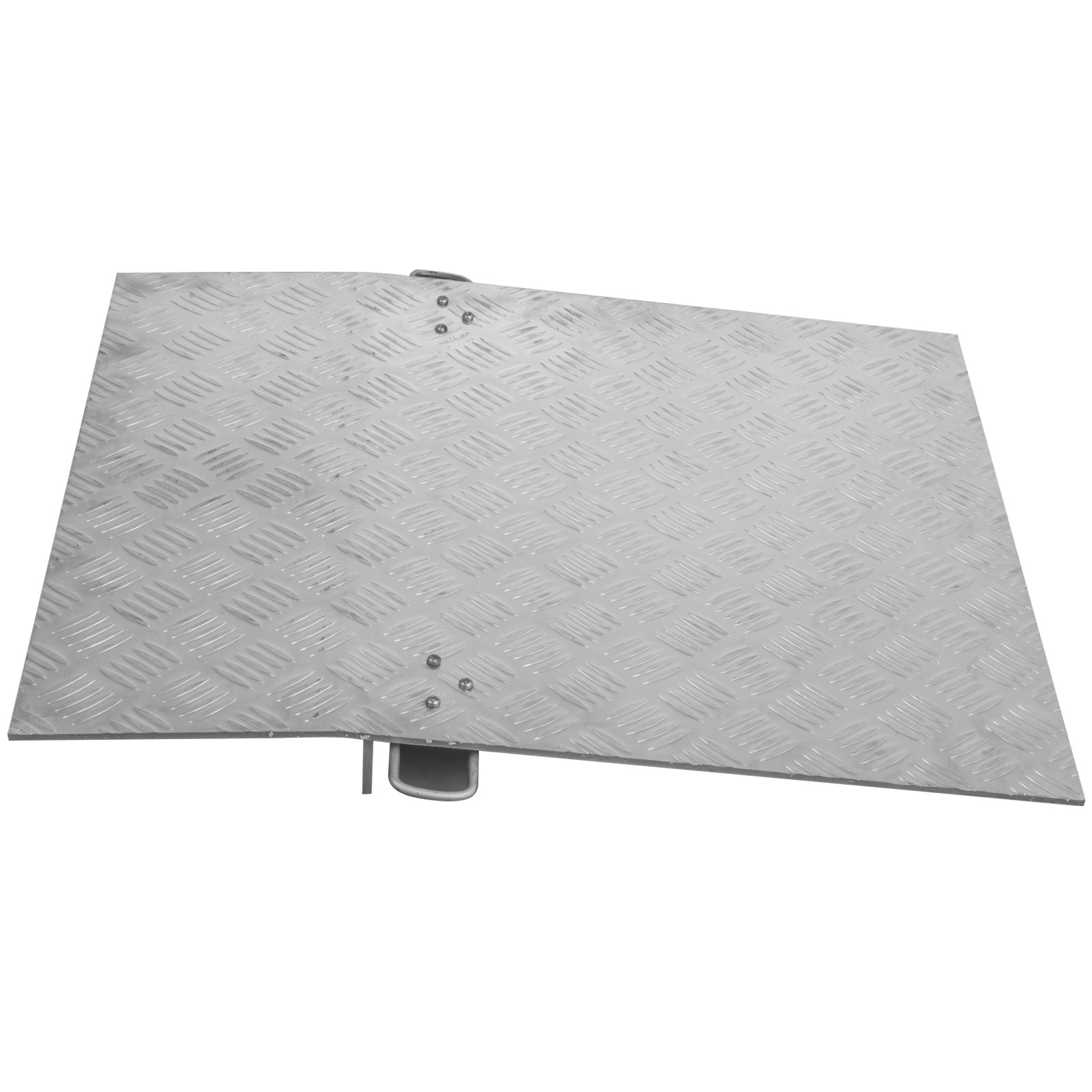 3000lb Aluminum Hand Truck Dock Plate 24x30in Dockplate Curb Ramp