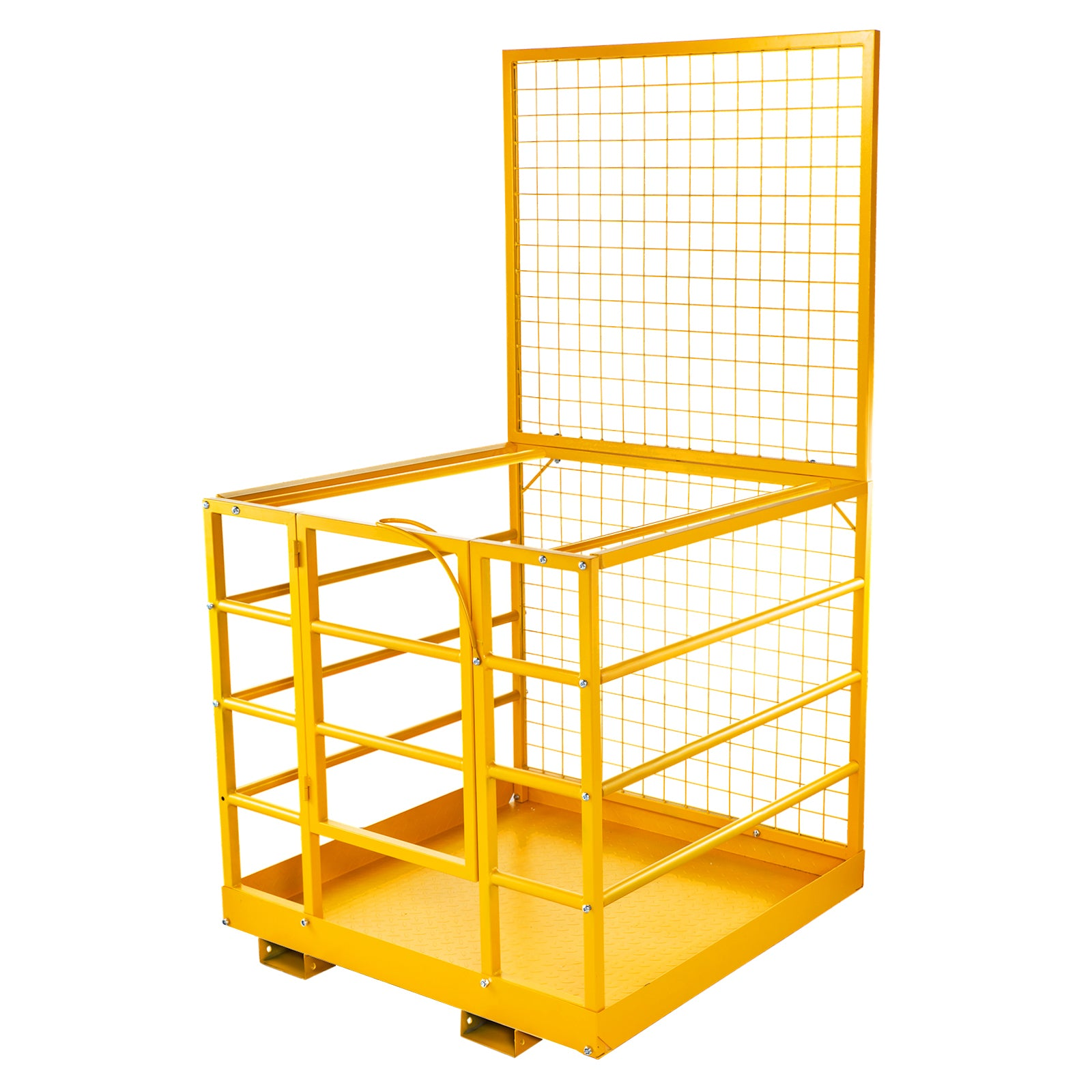 "45""'x43"" Forklift Work Platform Safety Cage Platform Protection Rust-free"