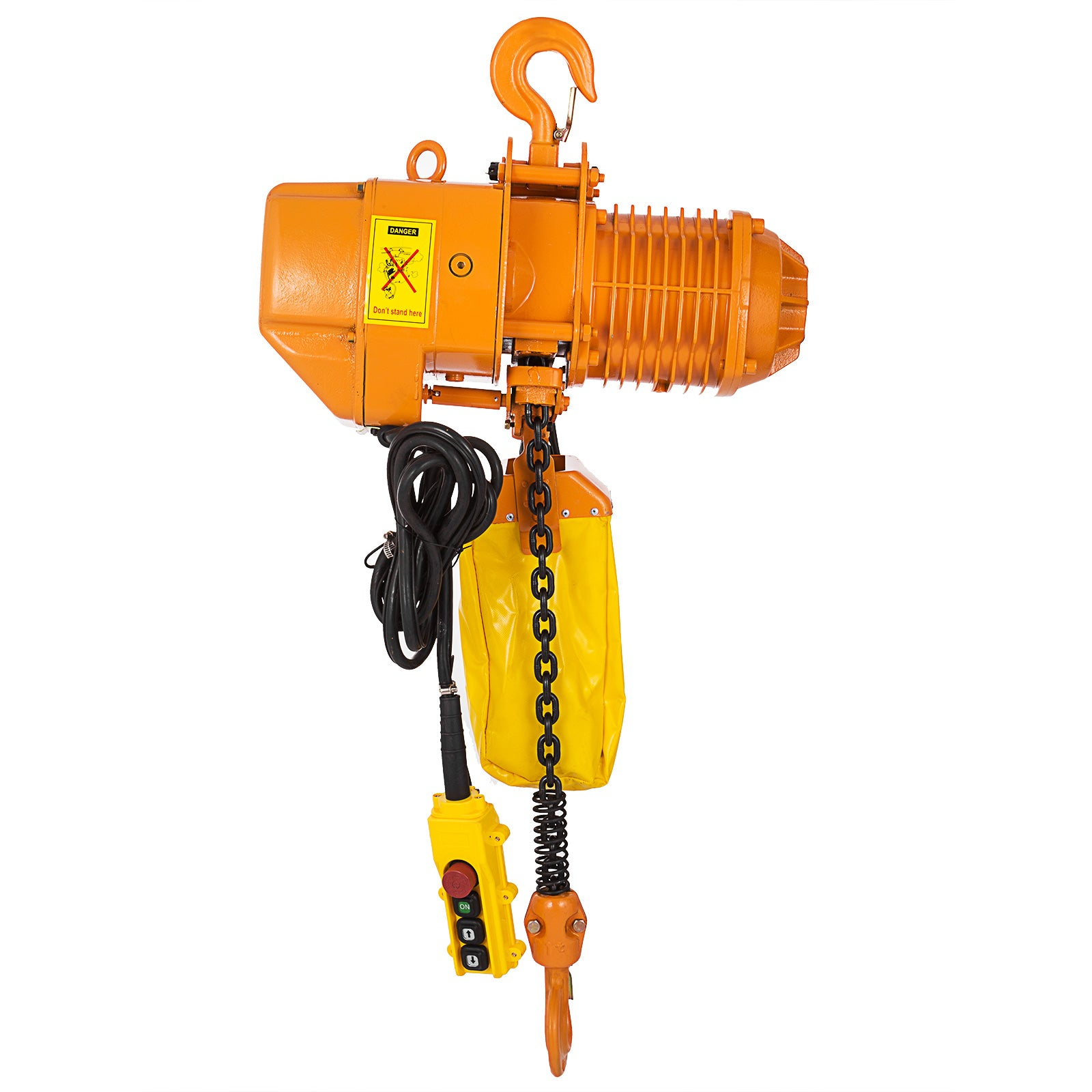 Electric Chain Hoist 4400lbs 10' Lift Height 2t High Speed 3 Phases 220v