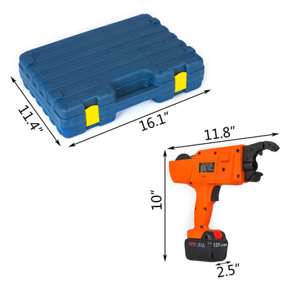 30-60mm Automatic Rebar Tying Machine 13200mah Rebar Tier Tool Double Battery