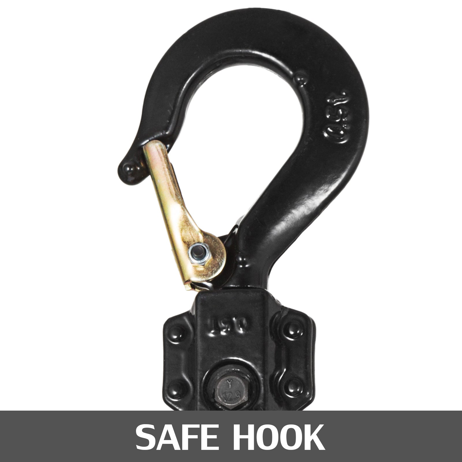 0.75t Mini Manual Lever Chain Hoist Lever Block Steel Swivel Hooks