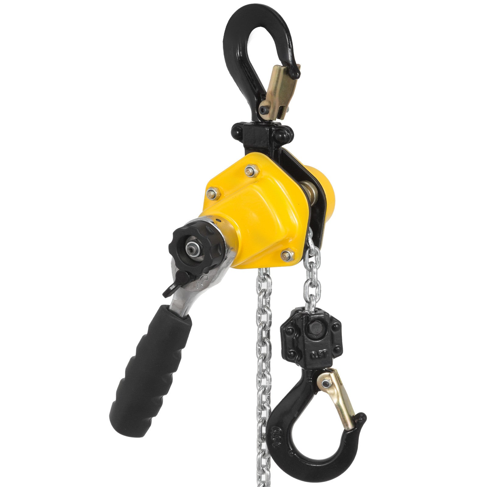 Mini Lever Block Chain Hoist 550lbs 15ft Shipping Versatile