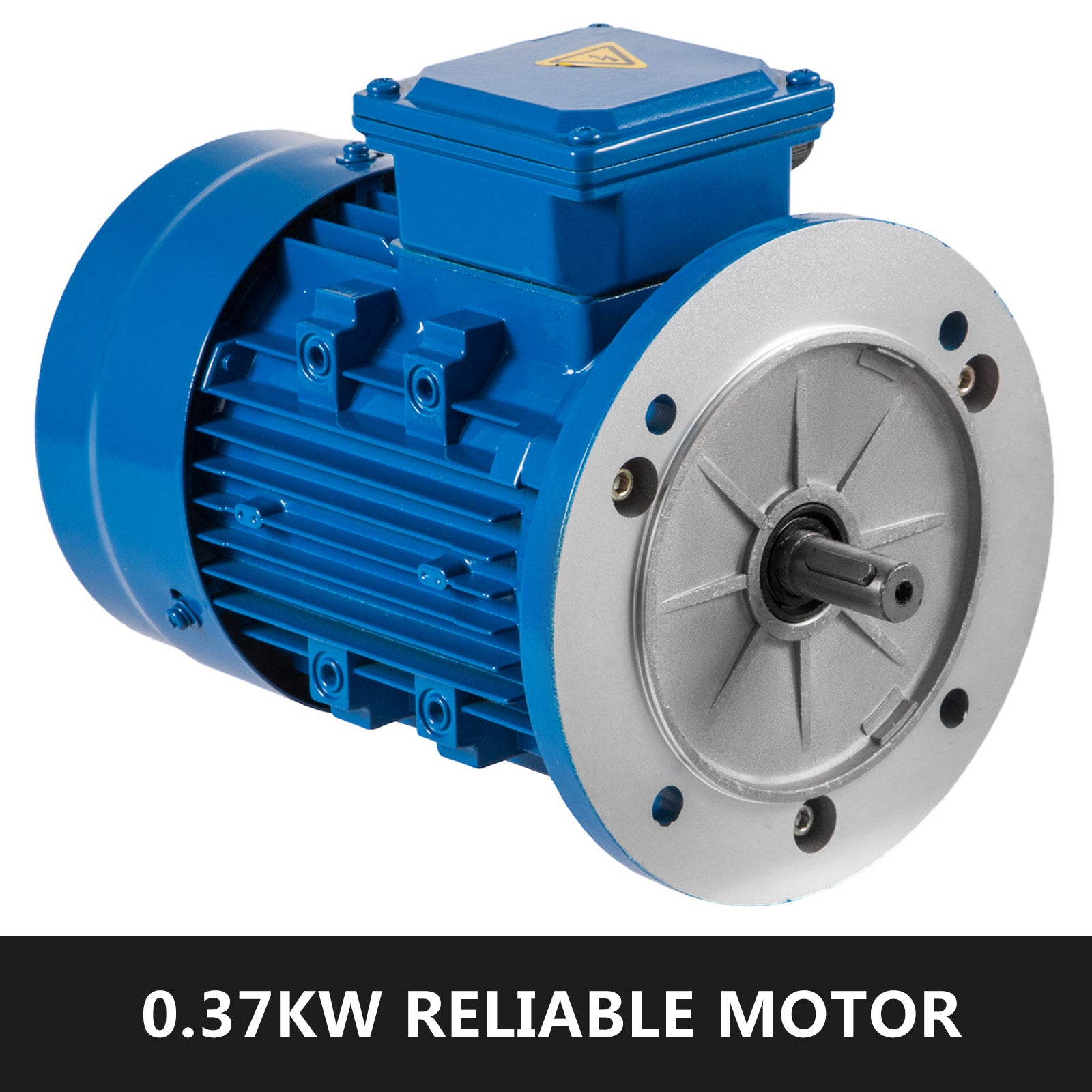1/2 Hp Electric Motor Three Phase 0.37 Kw Rated Speed 3000 Rpm Standard Motor