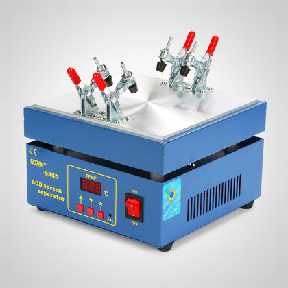Lcd Touch Screen Separator Glass Removal Machine With Uv Light And 7 Moids